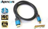 Avencore Platinum 1m HDMI v2.0a Cable (High-Speed with Ethernet) (Thumbnail )