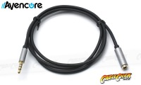3m Avencore Crystal Series 4-Pole TRRS 3.5mm Extension Cable (Male to Female) (Thumbnail )