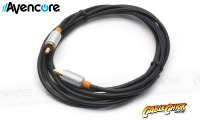 30cm Avencore Crystal Series Digital Coaxial Cable & CVBS Composite Video Cable (Thumbnail )