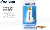 Avencore Mini-DisplayPort to VGA Adaptor (Male to Female) (Thumbnail )
