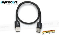 Avencore 2.5m Hi-Speed USB 2.0 Cable (Type-A, Male to Male) (Thumbnail )