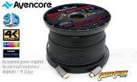 Avencore Carbon Series 100m HDMI Active Optical Cable (Supports Ultra HD 4K@60Hz) (Thumbnail )