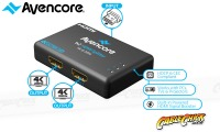 Avencore Halon Series Ultra HD 4K Powered 2-Way HDMI Splitter & Extender (Thumbnail )