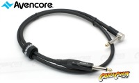 "7.5m Avencore Platinum 1/4"" Guitar Cable with Right Angled Connector (Thumbnail )"