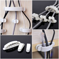 Self-Adhesive Cable Organiser Clips (10 Piece Set) (Thumbnail )
