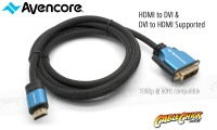 Avencore Platinum 50cm HDMI to DVI-D Cable (Thumbnail )