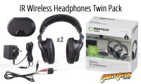 IR Wireless Headphones (Twin Pack) (Thumbnail )