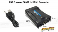 SCART to HDMI Converter (USB Powered) (Thumbnail )