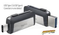 128GB SanDisk Ultra Dual Drive USB Type-C & Type-A Flash Drive (USB 3.1) (Thumbnail )
