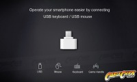 Micro-USB OTG Adapter | USB Micro-B On-The-Go (White) (Thumbnail )