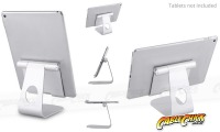 Universal Aluminium Tablet Stand (for Tablets & Large Phones) (Thumbnail )