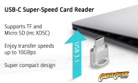 USB Type-C Micro SD Card Reader (Thumbnail )