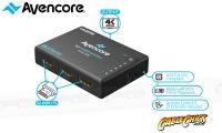 Avencore Halon Series 5-Port HDMI Switch with Remote & IR Receiver (1080p 3D + UHD/30Hz) (Photo )