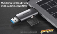 USB-C & USB 3.0 OTG Card Reader (SD and Micro SD) (Thumbnail )