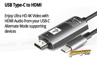 Premium USB 3.1 Type-C to HDMI Adapter (Thumbnail )