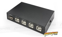 4-Port USB 2.0 Sharing Switch (1x Device to 4x PCs) (Thumbnail )