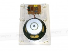 "Square 6.5"" Pair of 2-Way Wall / Ceiling Mounted Speakers - 100w Kevlar Drivers (Thumbnail )"