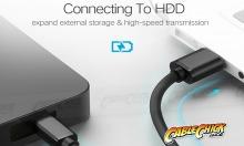 1m USB 2.0 Hi-Speed Cable (A to Mini-B 5 Pin) (Thumbnail )
