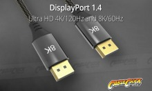 2m Premium DisplayPort 1.4 Cable (32.4Gbps - 8k@60Hz with HDR) (Thumbnail )