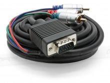 Pro Series 10m Component to VGA Cable (Thumbnail )