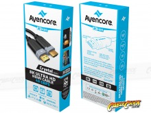 1m Avencore Crystal Series 8K Ultra Cable HD (48Gbps HDMI 2.1) (Thumbnail )