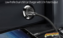 Baseus 3.1A Dual-Port USB Fast-Car Charger (Thumbnail )