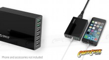 Orico 6-Port 2.4A Desktop USB Charging Station with QC 2.0 (Thumbnail )