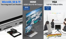 11-in-1 USB-C Docking Station with Power Delivery, HDMI & VGA Output (PC or Mac) (Thumbnail )