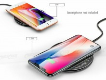 15W Wireless QI Charging Pad for Smartphones (Thumbnail )