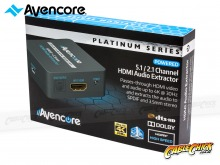 Avencore Platinum Series HDMI Audio Extractor (2.0CH / 5.1CH HDMI Audio Extractor) (Thumbnail )
