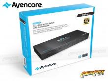 Avencore Halon Series HDMI 4x2 True Matrix Switch & Audio Splitter (Supports Ultra HD 4K@30Hz) (Thumbnail )