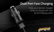 Compact Dual USB Car Charging Adapter (5V 3.1A) (Thumbnail )