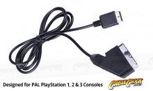 Playstation RGB SCART Cable (PS1, PS2 & PS3 Compatible) (Thumbnail )