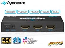 Avencore Platinum 2-Way Ultra HD 4K/60Hz HDMI Splitter (1x2 HDMI 2.0 Splitter) (Thumbnail )