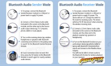 2-in-1 Bluetooth v5.0 Audio Transmitter & Receiver (Thumbnail )