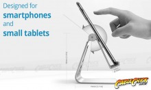 Universal Aluminium Phone & Tablet Stand (for Small Tablets & Phones) (Thumbnail )