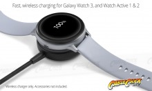 Wireless Charging Dock for Samsung Galaxy Active + Watch 3 (Thumbnail )