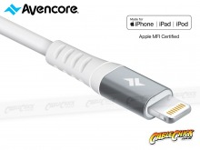 Avencore Platinum Series 1m Apple Lightning Cable (MFi Certified USB-A to Lightning 3A) (Thumbnail )