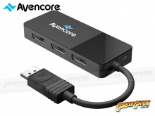 Avencore 8K DisplayPort 3-Way Splitter Hub - MST Hub (Extend & Mirror) (Thumbnail )