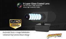 Full HD 1080p USB Webcam (Built-in Microphone - PC & Mac) (Thumbnail )