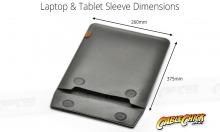 "Universal 15"" Laptop & Tablet Sleeve (Faux-Leather + Mircofibre Lining) (Thumbnail )"