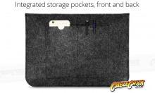 """Universal 15"""" Laptop & Tablet Sleeve (Soft-Touch Felt) (Thumbnail )"""
