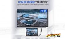 1m Premium Aluminium USB-C Fast-Charging Cable (USB 3.1 Gen2 - 10Gbps, 100W/5A, 4K/60Hz) (Thumbnail )