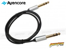 """1m Avencore Crystal Series 6.5mm Stereo Audio Cable (1/4"""" Stereo Lead) (Thumbnail )"""