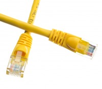0.5m CAT6 RJ45 Ethernet Cable (Yellow)