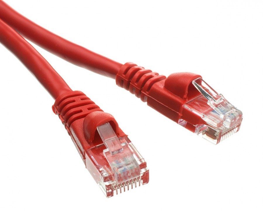 0.5m CAT6 RJ45 Ethernet Cable (Red)
