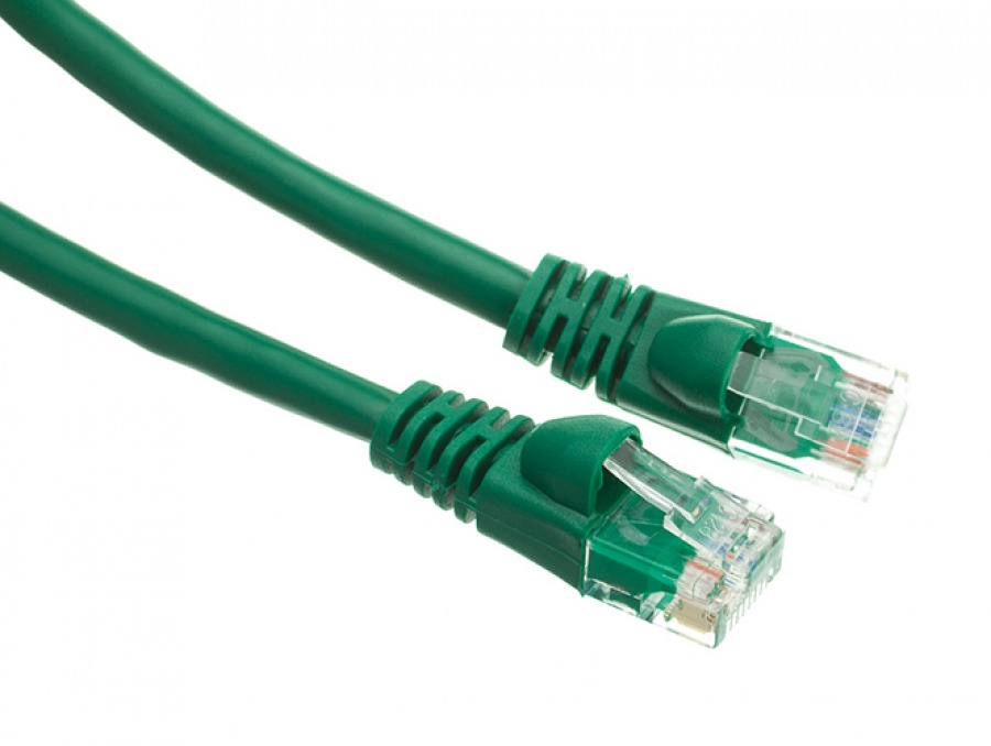 0.5m CAT6 RJ45 Ethernet Cable (Green)