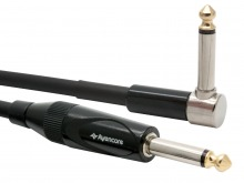 "10m Avencore Platinum 1/4"" Guitar Cable with Right Angled Connector"