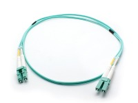 1m OM3 Multimode LC-LC Fibre Optic Patch Cable (Thumbnail )