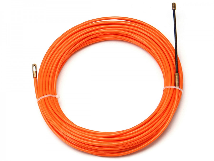 10m Nylon Cable Puller (Fish Tape 4mm Wire) (Photo )